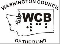 Washington Council of the Blind - logo